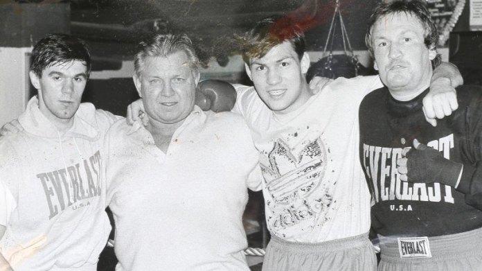 Hanne mit Boxern
