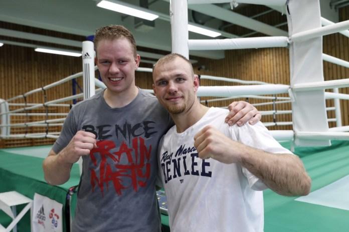 Amateure und Profis trainieren gemeinsam - MAx Keller und Alex Peil / Foto: Wolfgang Wycisk