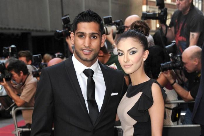 Amir Khan und Frau