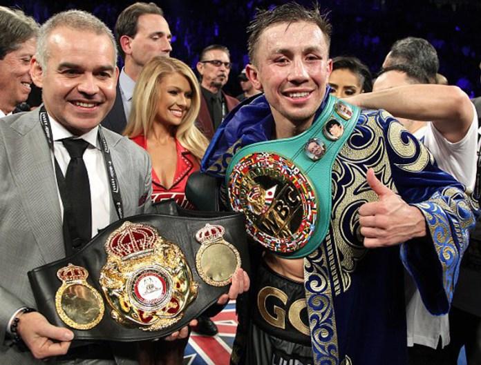 Durch das kontroverse Unentschieden belibt Gennady Golovkin auch weiterhin Weltmeister der Verbände WBC, WBA, IBF und IBO.