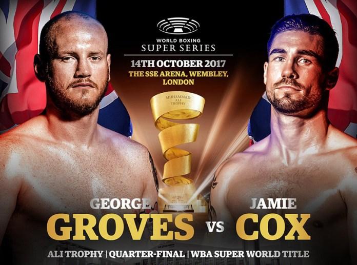 Heute Abend stehen sich in der Wembley Arena in London im Viertelfinale der World Boxing Super Series um die Muhammad Ali Trophy der amtierende Super-Champion der WBA und dessen Herausforderer Jamie Cox gegenüber. Der Kampf wird von ranfighting live übertragen.