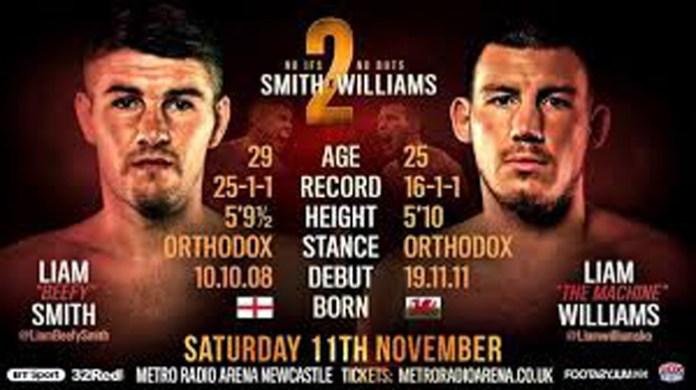LIAM SMITH VS. LIAM WILLIAMS 2