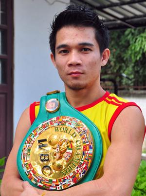 """Srisaket Sor Rungvisai besiegte in diesem Jahr gleich zwei Mal den früheren Welt besten Boxer und p4p Champion Roman """"Chocolatito"""""""