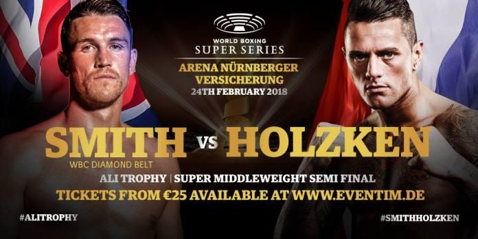 Das neue Fight-Poster des Halbfinales im Super-Mottelgewicht
