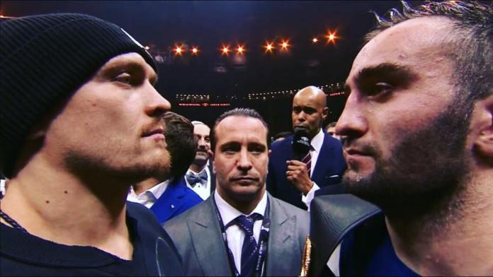 Noch im Ring zu Sotschi standen sich die beiden Finalisten Gassiev und Usyk Face to Face gegenüber. Der Kampf dieser beiden Ausnahmeboxer kann die Krönung der World Boxing Super Series werden.