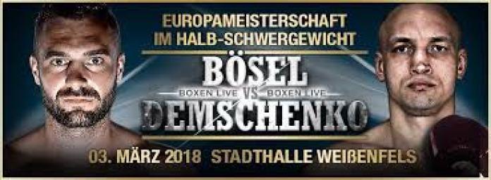 Boesel vs Demschenko Poster