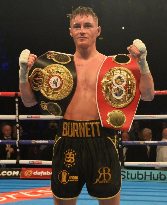 WBA Super-Champion im Bantamgewicht Ryan Burnett