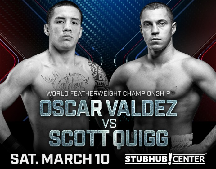 Valdez vs Quigg Poster