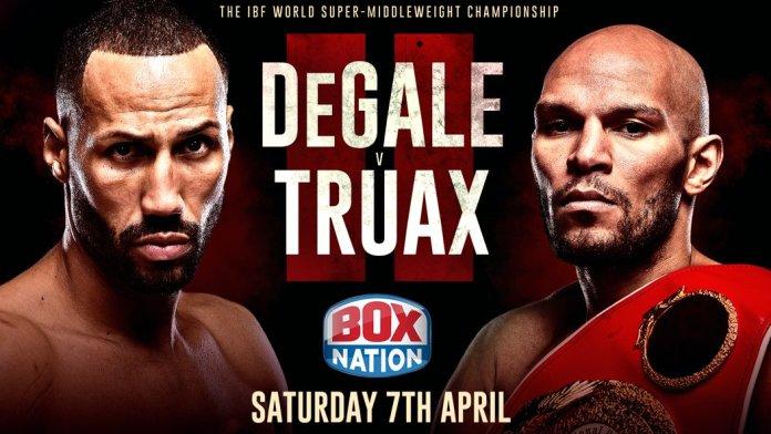 Fightposter: Rematch James DeGale Caleb Truax