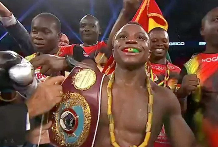 Isaac Dogboe entthront WBO-Weltmeister Jessie Magdaleno