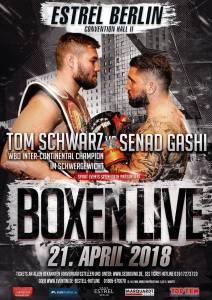 Tom Schwarz vs Senad Gashi