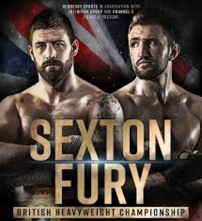 Sam Sexton vs Hughie Fury Poster