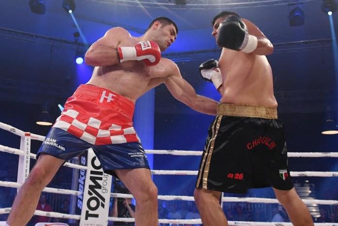 Mit einem eindrucksvollen tKO-Sieg in der 4. Runde empfahl sich der Bronzemedaillengewinner von Rio, der kroatische Super-Schwergewichtler Filip Hrgovic, für größere Aufgaben. Seinen nächsten Kampf wird der kroatische Hero im September dieses Jahres in seiner Heimatstadt Zagreb bestreiten.
