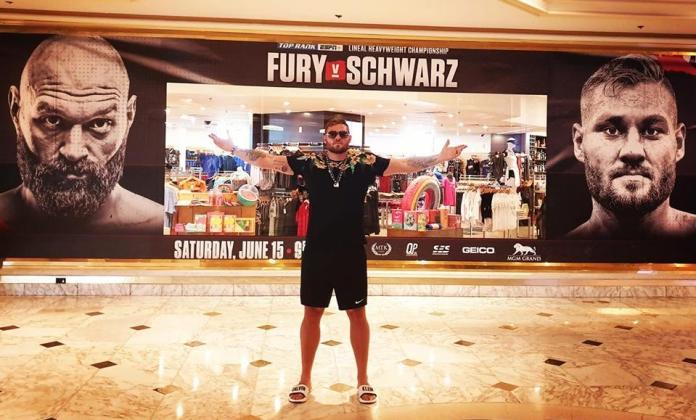 Foto Tom Schwarz in las Vegas