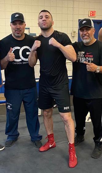 Antonio Diaz, Avni Yildirim und Joel diaz