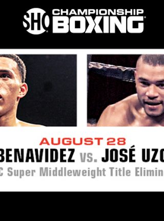 David Benavidez vs Jose Uzcategui Poster