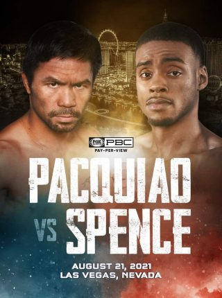 Manny Pacquiao vs Errol Spence Jr Fight-Poster