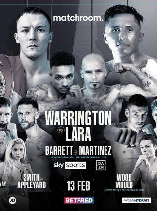 Mauricio Lara vs. Josh Warrington Poster 1