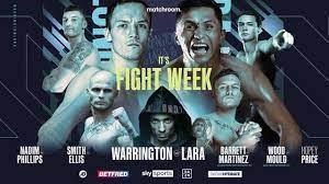 Mauricio Lara vs. Josh Warrington Poster