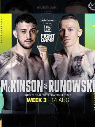 Michael McKinson vs. Przemyslaw Runowski Poster