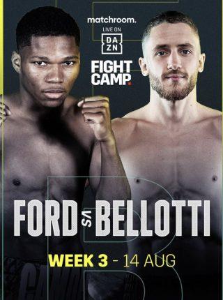 Raymond Ford vs. Reece Bellotti Poster