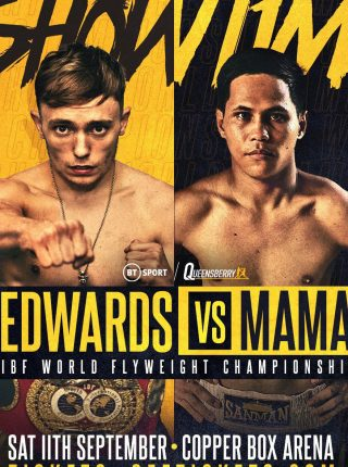 Sunny Edwards vs. Jayson Mama Poster