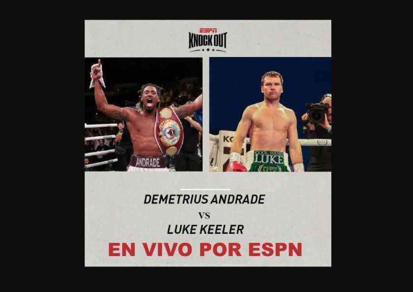 """Demetrius """"Boo Boo"""" Andrade vs Luke Keeler, será transmitida en VIVO y en Directo por ESPN."""