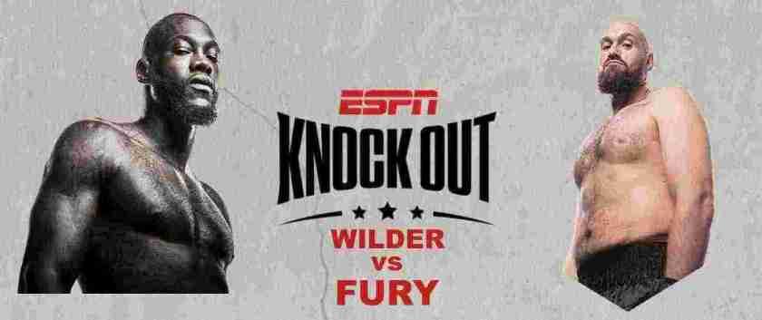 Wilder vs Fury 2: La Revancha. Combate excelente que podremos difrutar en VIVO por ESPN KNOCK OUT.