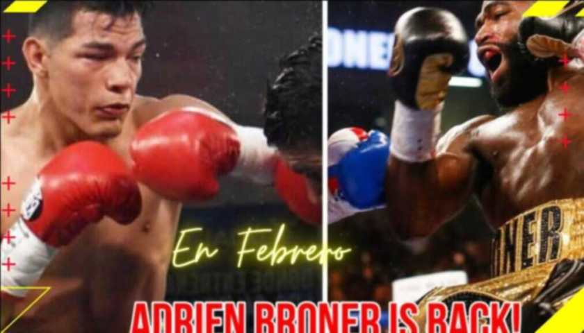 Adrien 'The Problem' Broner vs Pedro Campa en Febrero