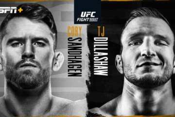UFC Fight Night: Sandhagen vs Dillashaw