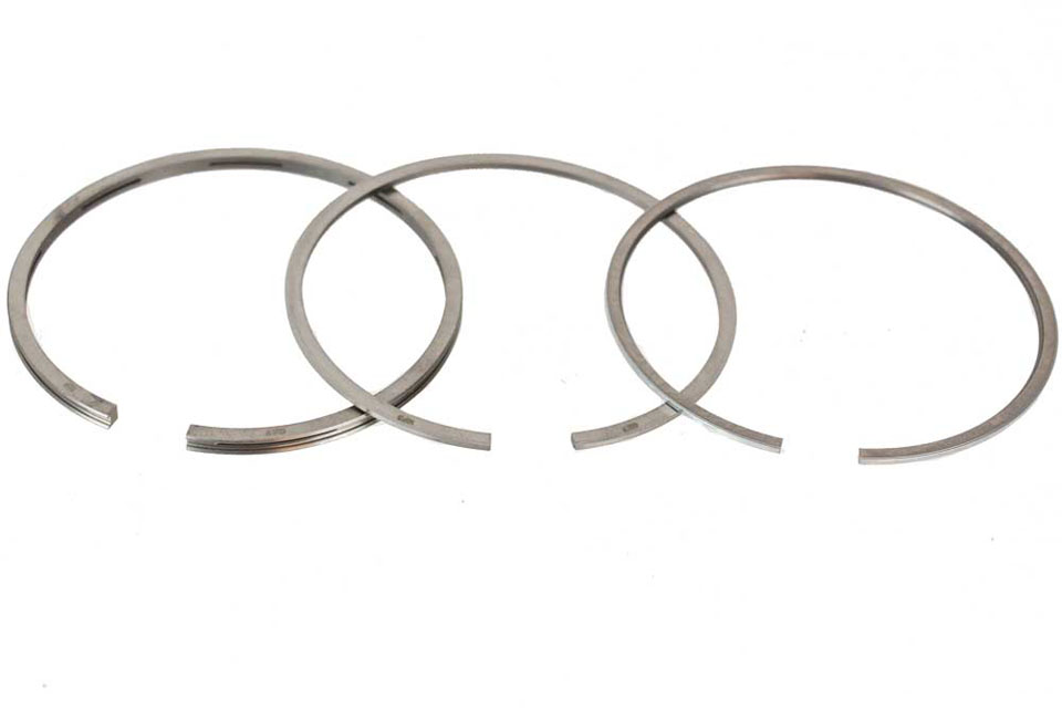 Piston Ring Set, Cast Iron Standard R100 (#1125505) 1977