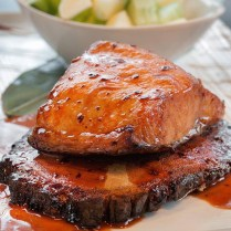 Hiro 88 does many wonderful things with salmon!