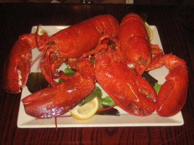 Twin lobsters are a timeless classic!