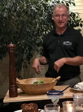 larry smith caesar salad station