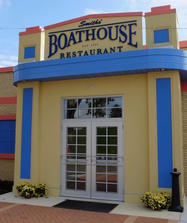 boathouse facade