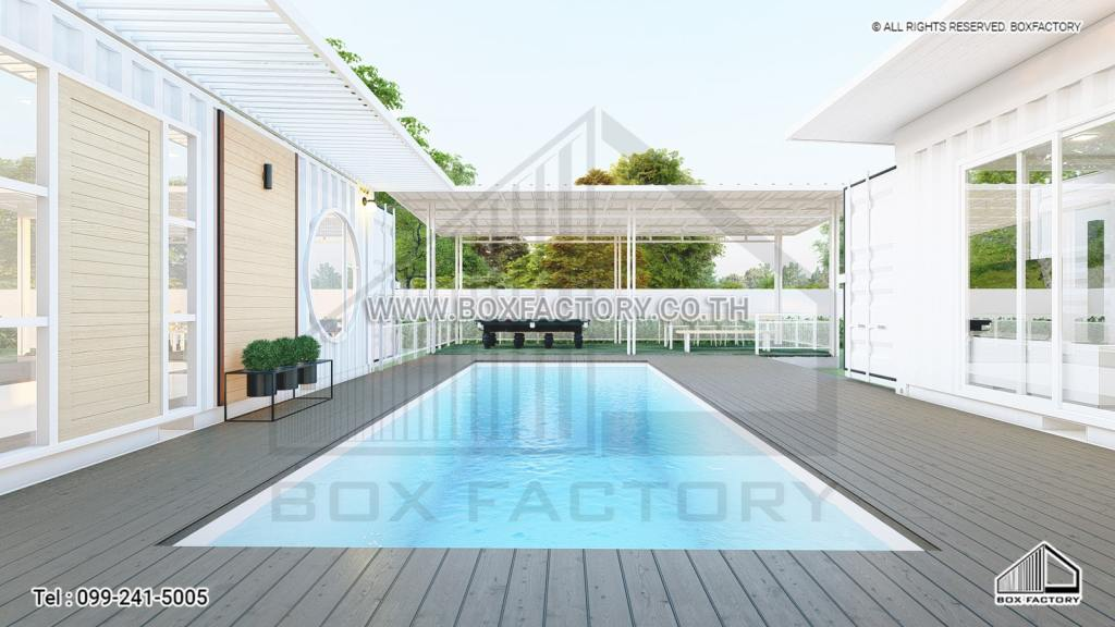 Container Pool Villa