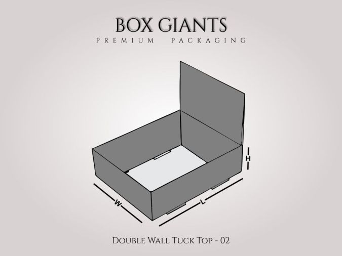 Double Wall Tuck Top Boxes