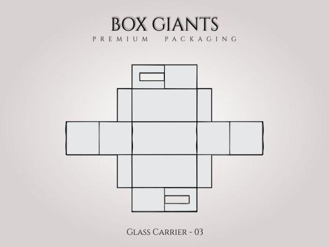 Custom Printed Glass Carrier