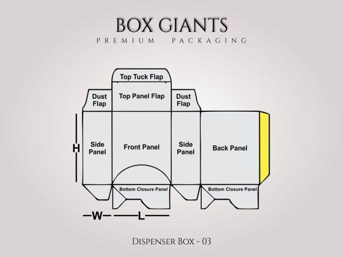 Custom Printed Dispenser Boxes