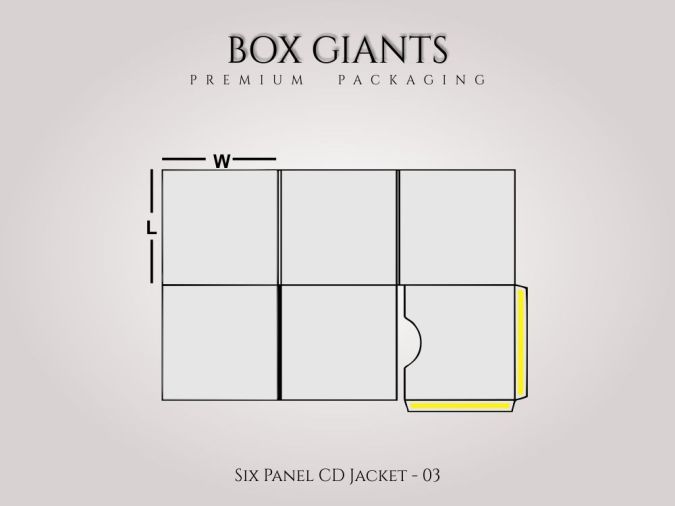Custom Printed Six Panel CD Jacket
