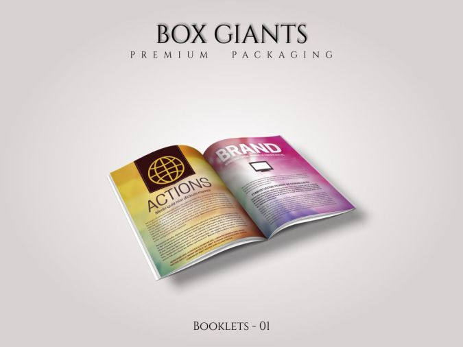Custom Printed Booklets