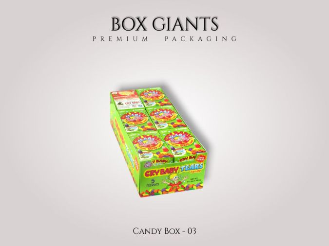 Custom Printed Candy Boxes