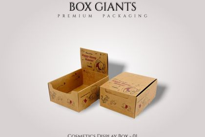 Cosmetics Display Boxes