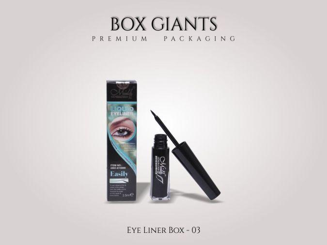 Custom Printed Eye Liner Boxes