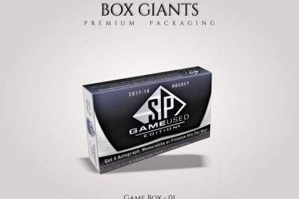Custom Printed Game Boxes