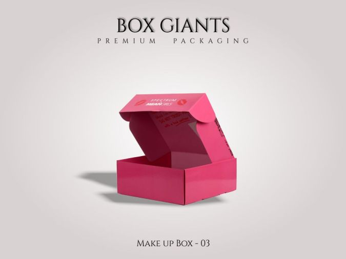 Custom Printed Make up Boxes