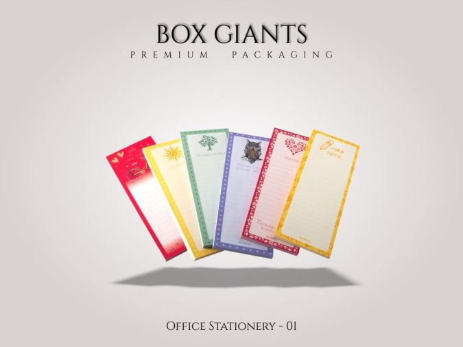 Custom Printed Office Stationery