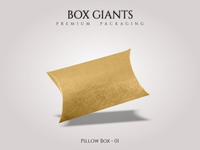 Custom Printed Pillow Boxes