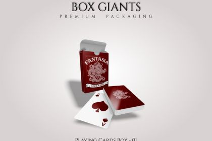 Custom Printed Playing Cards Boxes