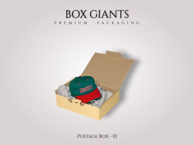 Custom Printed Postage Boxes